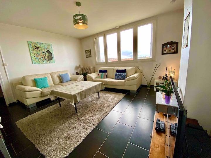 Appartement très lumineux à Niort