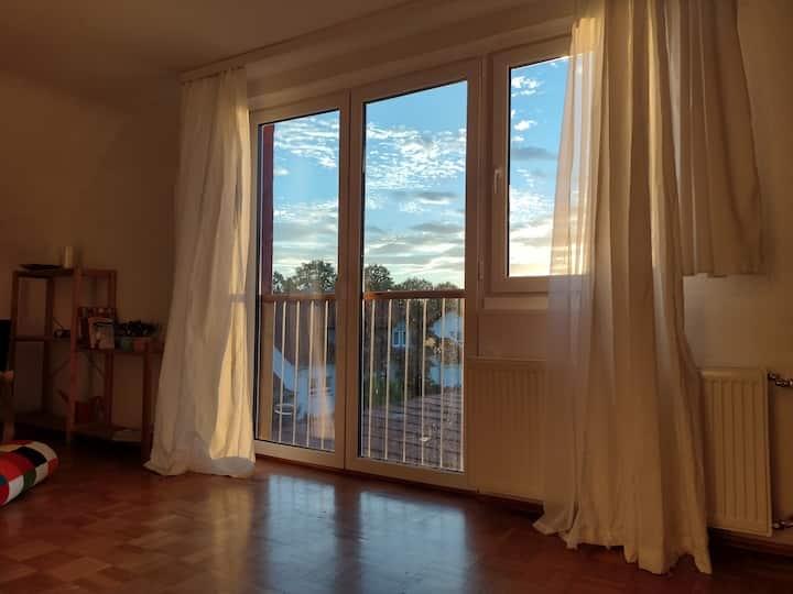 Schöne helle Wohnung mit Platz zum Wohlfühlen