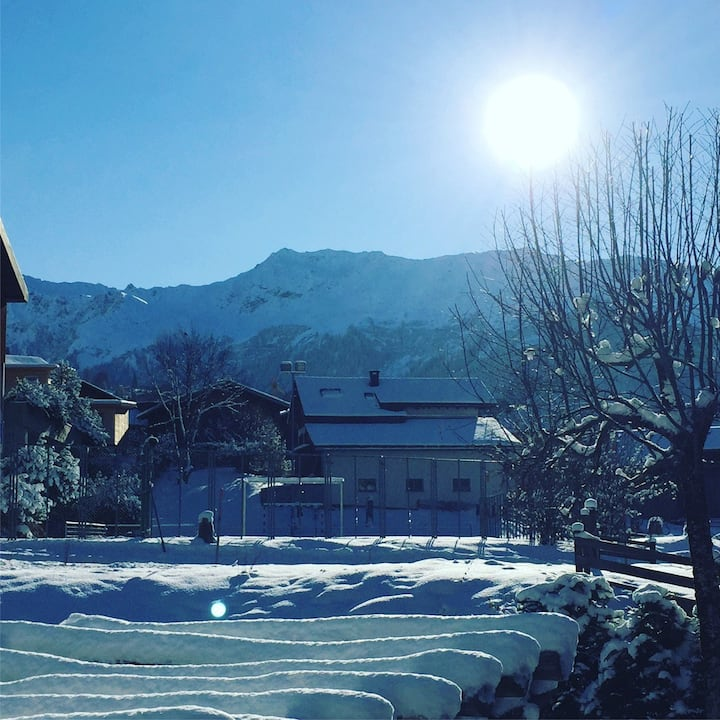 Cozy studio Klosters for WEF 2021
