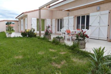 Grande villa 10 personnes proche de la mer - Laroque-des-Albères
