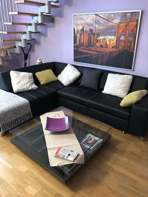 New doble sofa bed