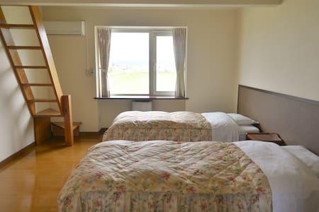 Wakamidori Room/若緑/洋室ー若緑