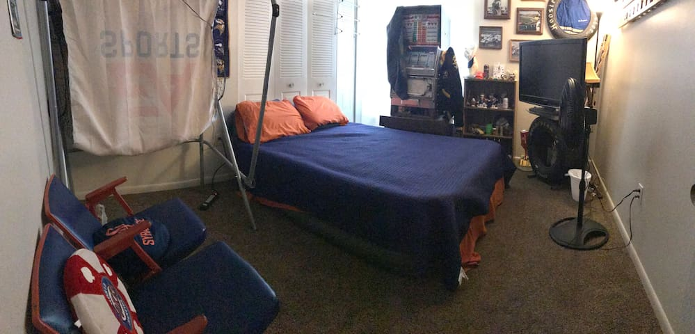 Room 1 - The Fan Cave