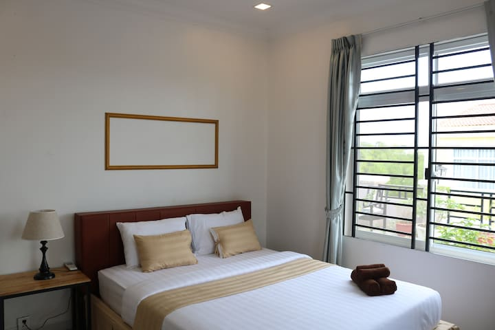Deluxe Double Room With garden View, Wifi, Bicycle