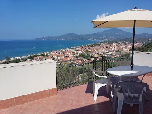 Cilento Villa Olga - panoramica a Marina di Ascea