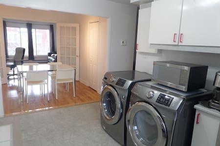 Appartement bien éclairé, propre et confortable. - Montréal - Apartment