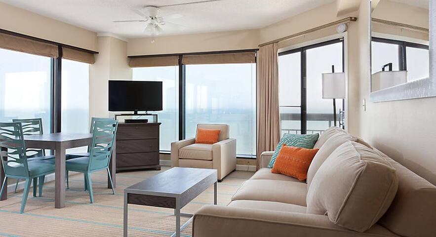 Ocean front Studio / 1 Bedroom in Myrtle Beach