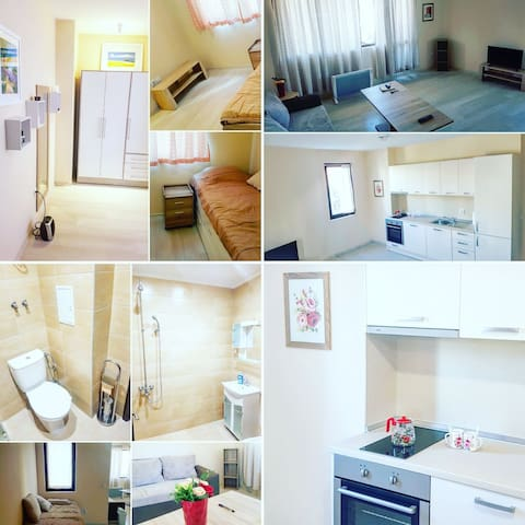 Cute newly refurbished 1-bedroom flat