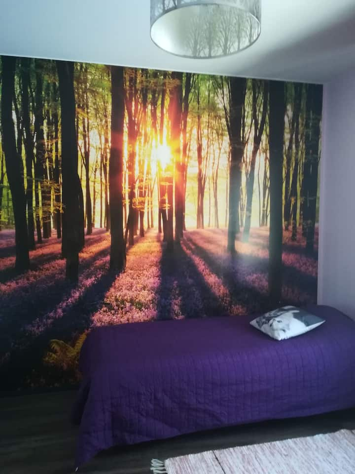Purple Room B & B - Minna's Guesthouse