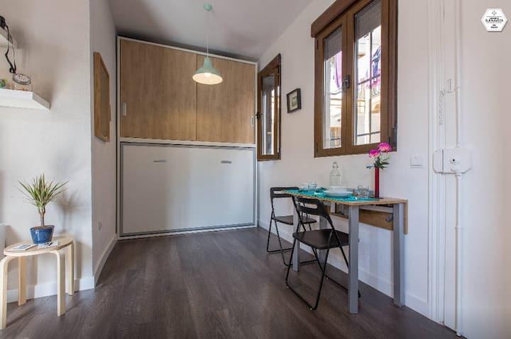 Cozy New Studio in typical Corrala in Lavapies