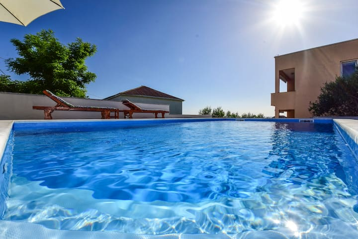 Apartment Jidra 1 with Terrace and Pool