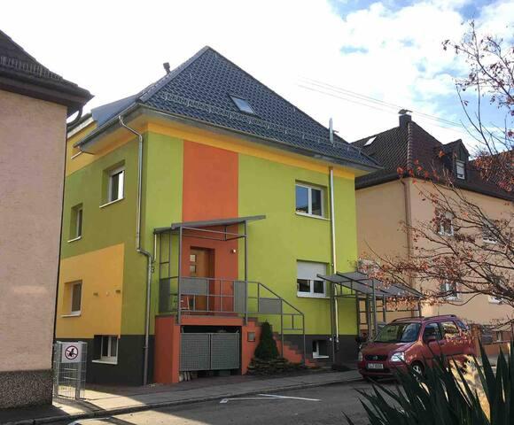 Apartment mit Garten in Stuttgart
