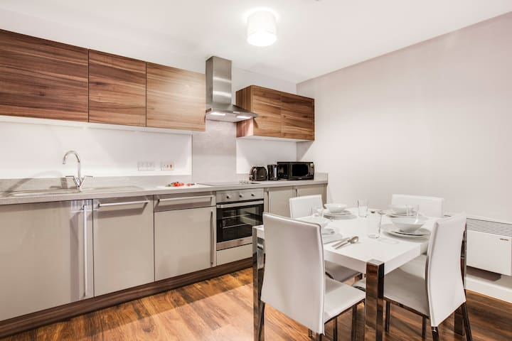 Approved Serviced Apartments - Manchester R65 - Salford - Lägenhet