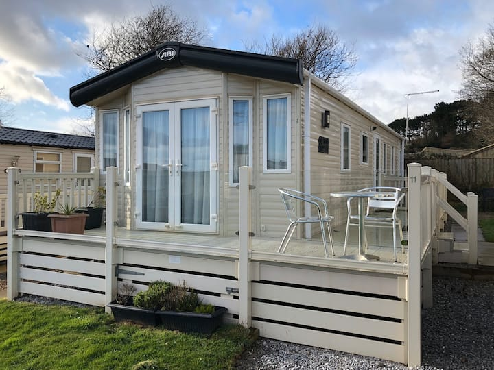 Luxury Caravan on the 5* Ladram Bay Holiday Park