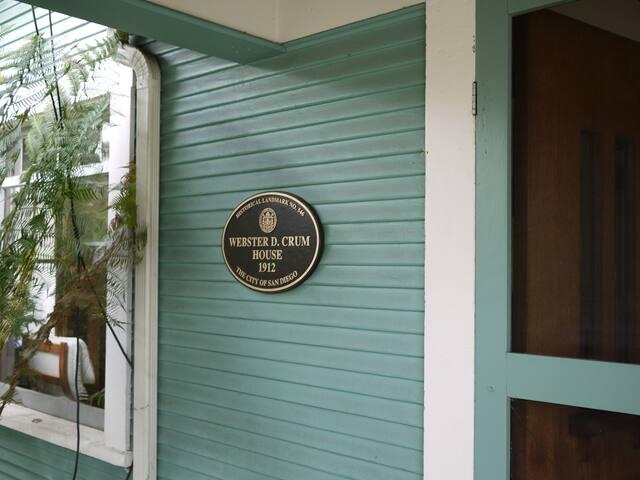 Webster D Crum House