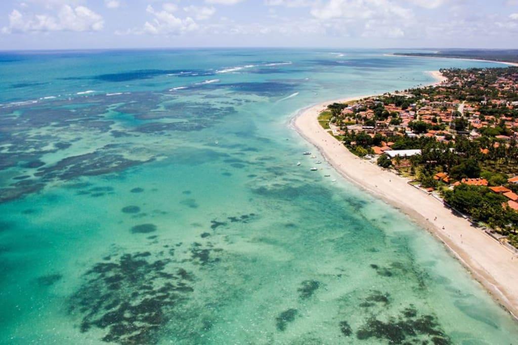 Praia de Campas -Tamandaré-PE