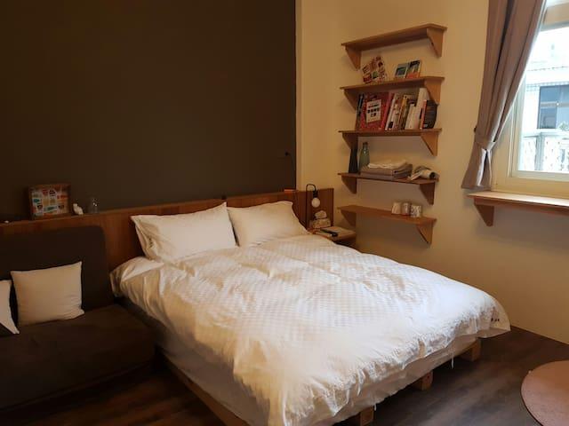 小磨。拾光 Mo Ground Book & Bed - Hualien City - 別荘