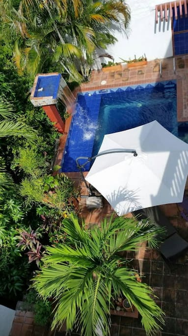 Piscina privada. Privat pool.