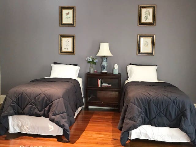Bed room 2 with twin beds