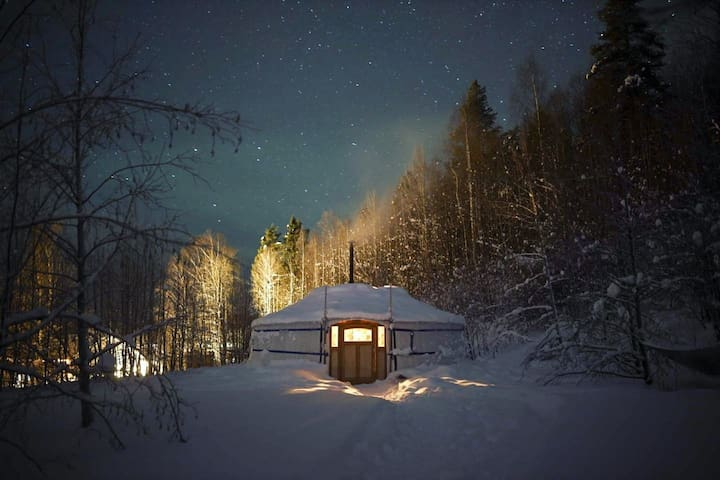 ★ Yurt in Swedish Lapland ★