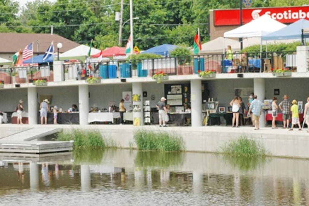 Village of Chesterville, Waterfront Park on the Nation River