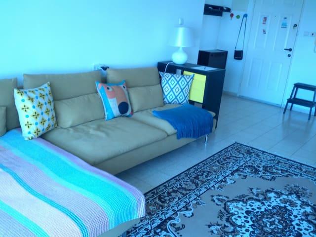 квартира недалеко от моря - Nahariyya - Apartamento
