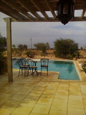 L'olivier de Zarzis - Maison d'hôtes - Errysifet - Dům pro hosty