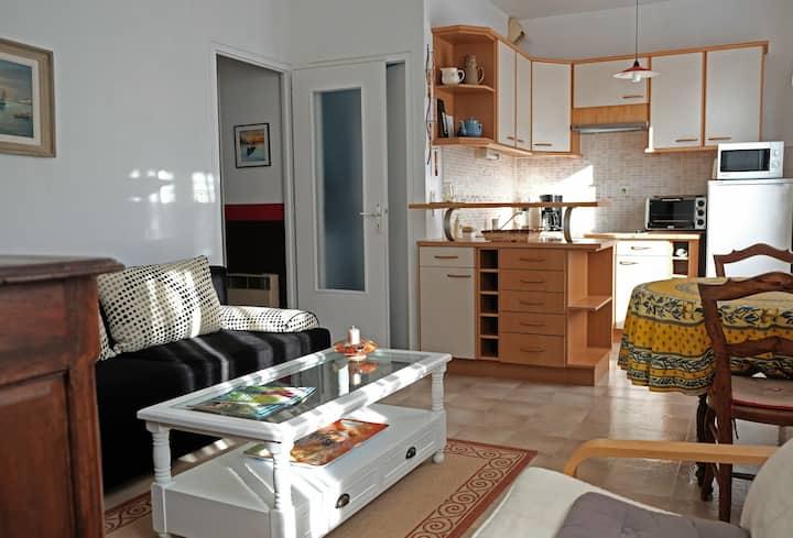 situé à 500 m du lac jolie appartement cosy 3*