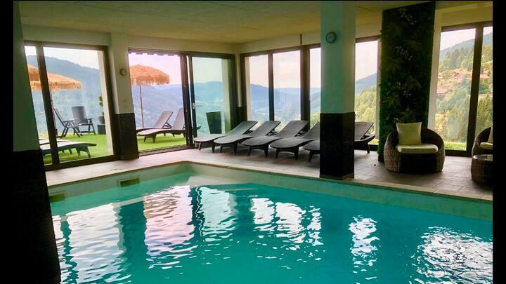 La clairière aux cerfs - 6-8 pers, piscine, sauna