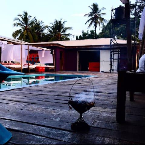 Popbeachclub tarkwa bay secure private villa