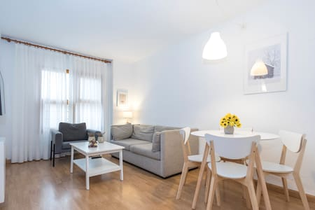 Cómodo y sencillo apartamento