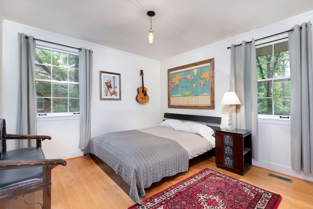 Queen bedroom on main floor.