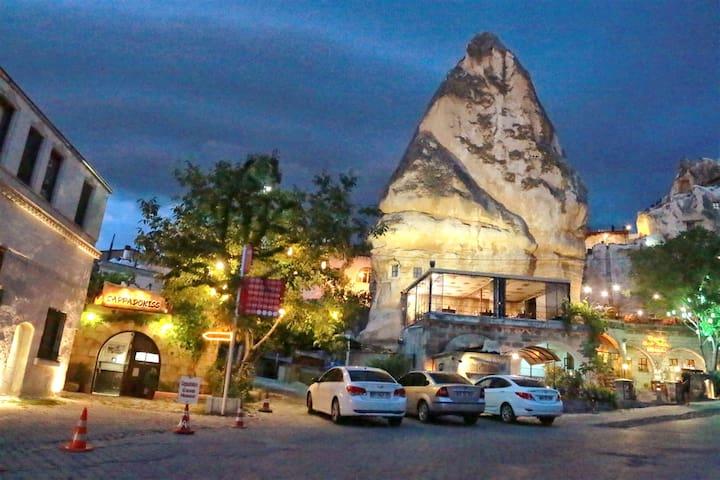 Tabiat Cave House/Double Stone Room-Çift Kişilk