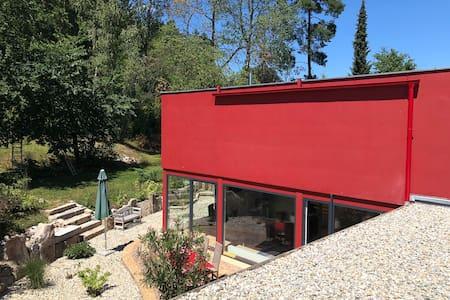 Modernes Haus Randgebiet Weiden