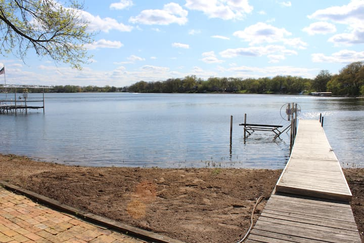 Lakefront Paddock Lake Vacation Home - Salem - House