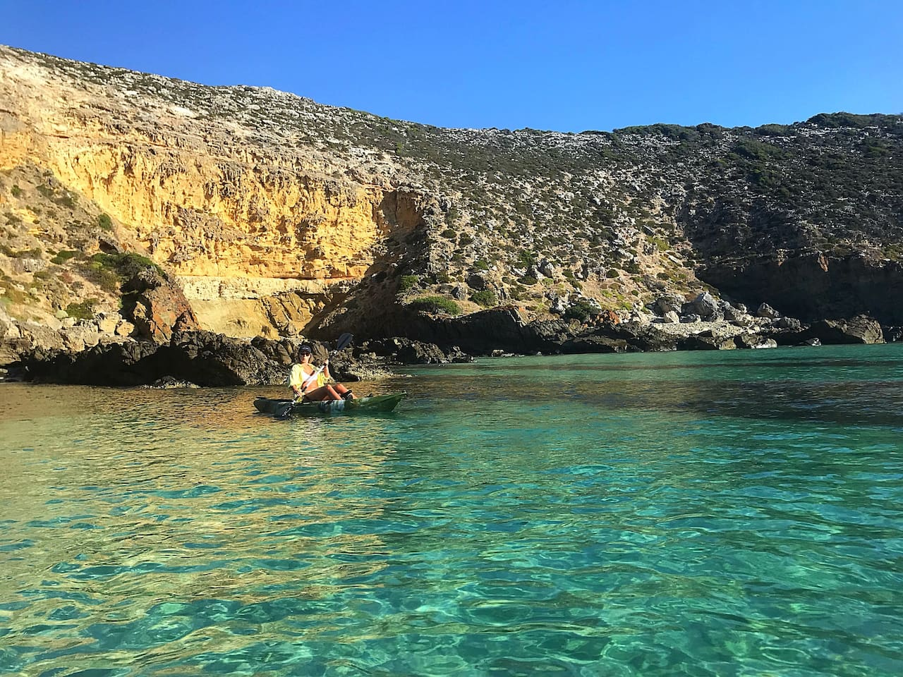 Stunning scenery, swimming, fishing, paddling, snorkeling... all to yourself.