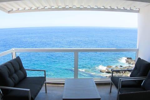 Luxusní zrekonstruovaný duplex přímo u moře