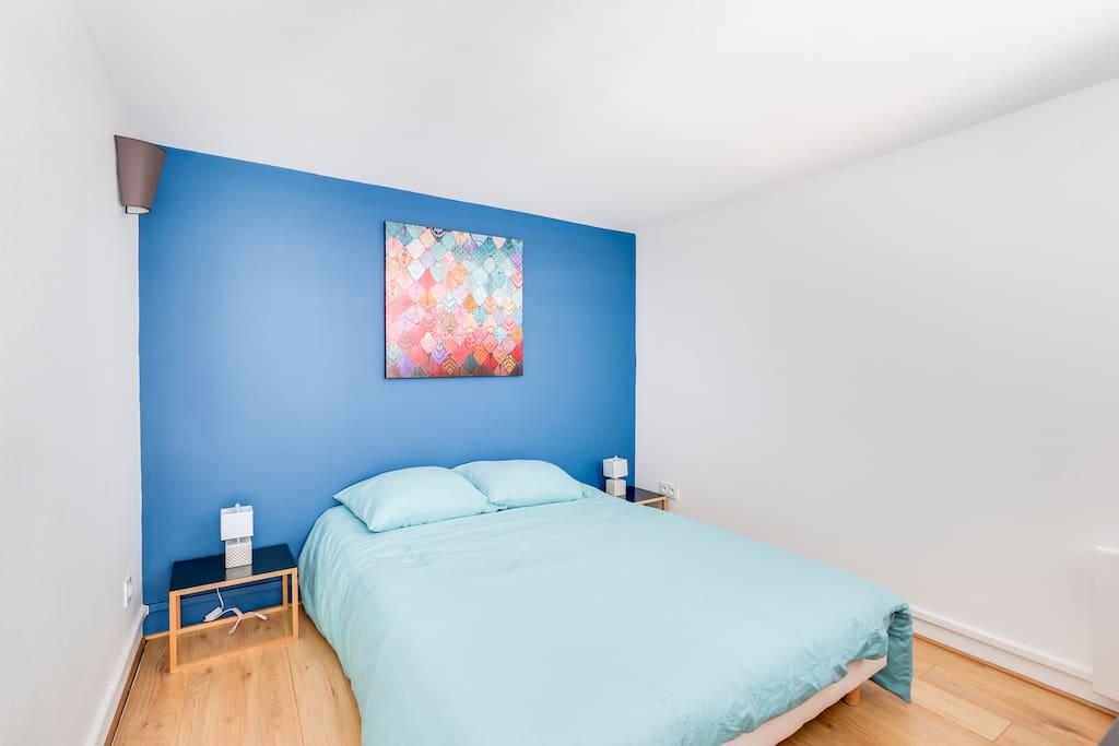 Découvrez notre première chambre en Mezzanine - Lit 140cm