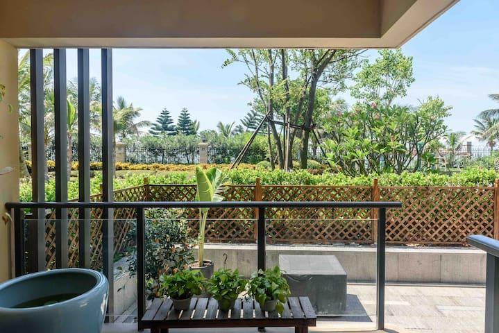 海景绝版花园洋房两房两卫—海甸岛美丽沙世纪大桥紧邻白沙门公园海南大学