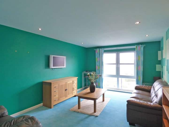 Comfortable, self contained 2 bed town apartment.