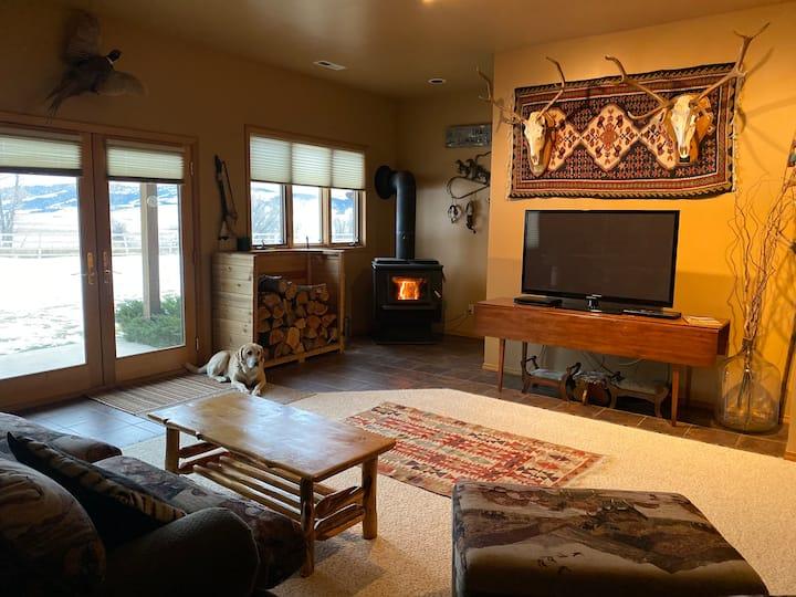 Indoor and outdoor beauty and comfort