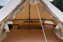 Bell Tent 9 At Lower Barn Farm Glamping - Bodiam
