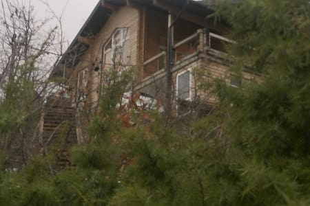 коттедж -сруб у  моря Альпийское шале - Novorossiysk - Rumah