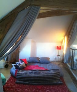 Suite de 50 m2 idéale long séjour,amoureux,famille - Chanteloup-les-Vignes - 一軒家
