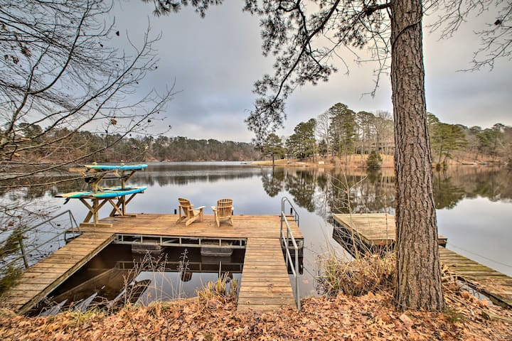 Renovated Lakefront Escape w/ Private Dock + Deck!