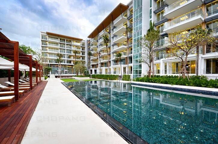 2 br Ocas 2nd fl Hua Hin by renvio - Hua Hin - Lägenhet
