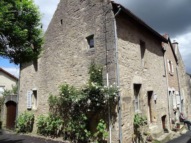 Confortable maison du 15e siècle - - Flavigny-sur-Ozerain