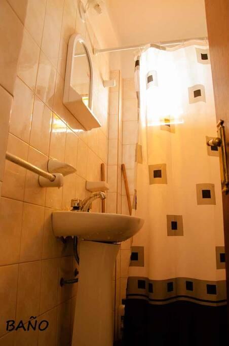 Baño inodoro videt ducha