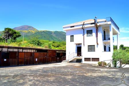 Casa M sul Vesuvio a 5 Km da Pompei - Terzigno