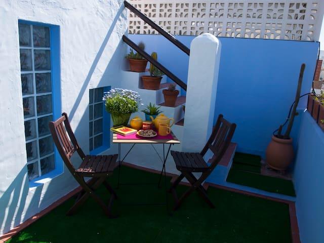 LA TERRAZA AZUL. CENTRO PLAYA - Chipiona - Casa